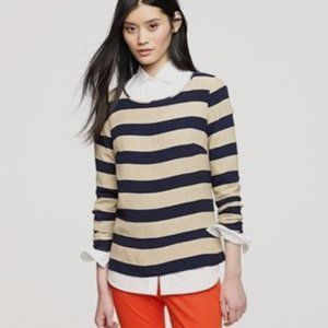 Ladies J. Crew Striped Blouse